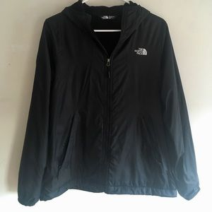 North Face Fleece Lined Hoodie Jacket